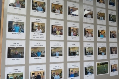 Golf Rx Customer of the Month wall