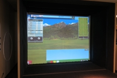 Golf Rx's new full swing golf simulator and ion tracking camera aids in teaching and club fitting.