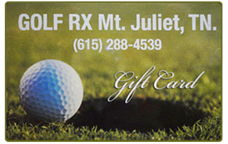 Golf Rx Gift Card