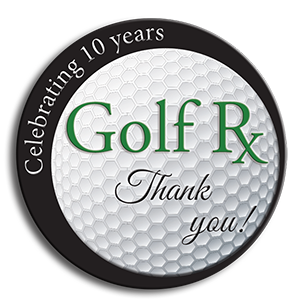 Golf Rx Celebrating 20 10 years!